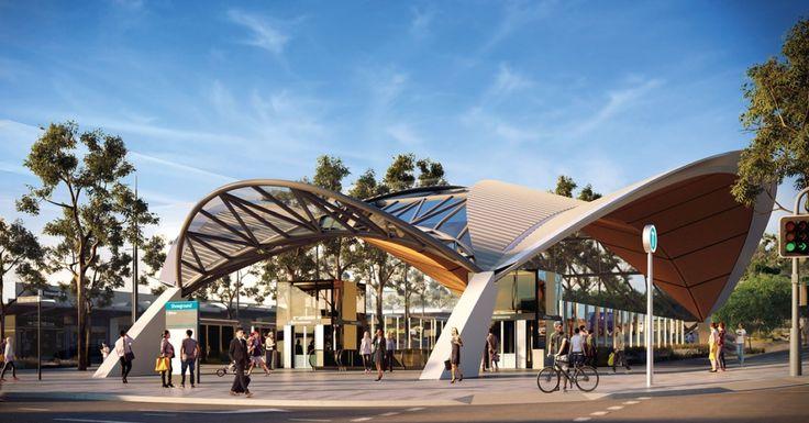 Showground railway stations