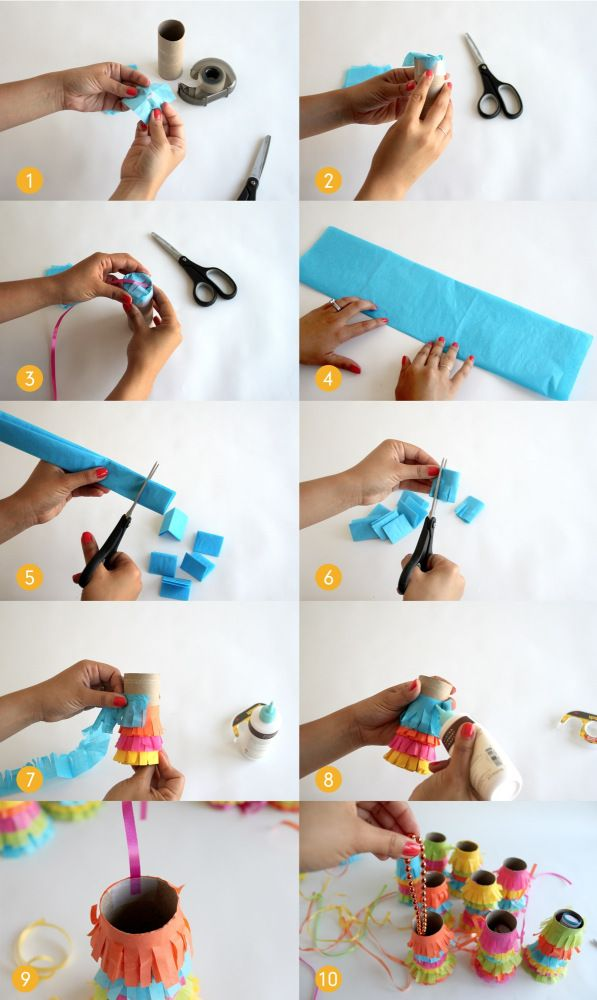 Another mini pinata idea! :) (see the paper lantern pinatas in Ramadan board)