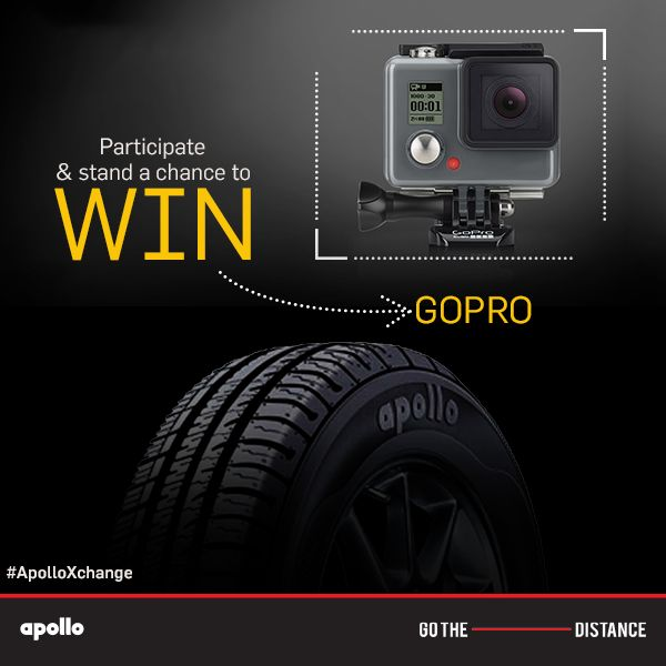 Apollo xchange contest,  chance to win GoPro   http://www.contestnews.in/apollo-xchange-contest-stand-chance-win-gopro/