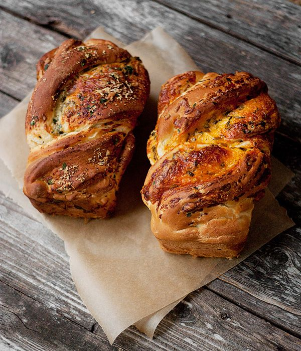 Seasons & Suppers - Soft Cheese Bread: Two Ways (Parmesan Herb & Garlic / Cheddar and Herb)