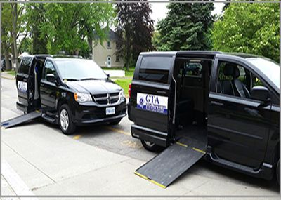 mobility transportation Toronto, wheelchair accessible taxi service, Flat rate service, Transportation for Large and regular size wheelchairs.