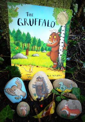 Chipper Nelly: The Gruffalo story stones get an airing....
