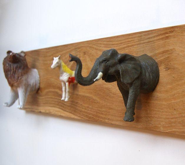 Oud speelgoed kan goed hergebruikt worden. Wat een leuk idee!