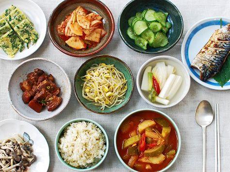 Korean bapsang (table) | Korean Food Gallery – Discover Korean Food Recipes and Inspiring Food Photos