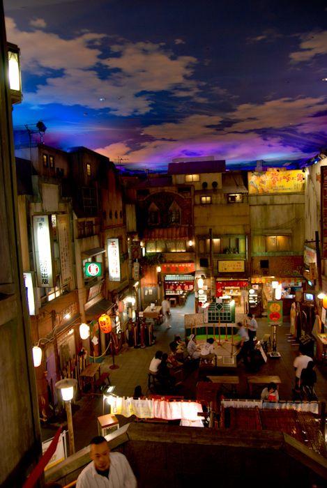 昭和の世界を感じたい。足はラーメン博物館に向かった。