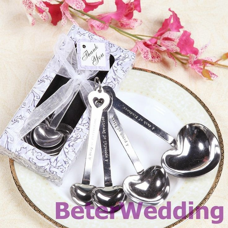 Aliexpress.com : Buy 6set Love Beyond Measure Spoons Wedding Favors WJ005/C Wedding Returning Gifts from Reliable Tiffany Blue Box suppliers on Shanghai Beter Gifts Co., Ltd. $15.00