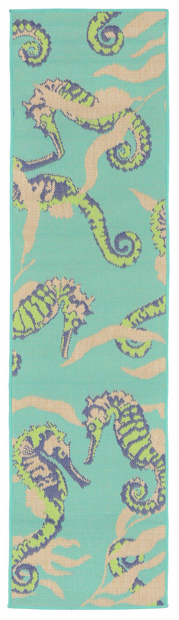 Playa 1357/93 Seahorses Cool Rug