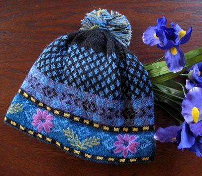 Blue Meadow Lined Hat, $30.00