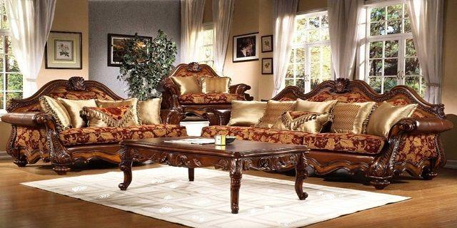 Elegant traditional living room design