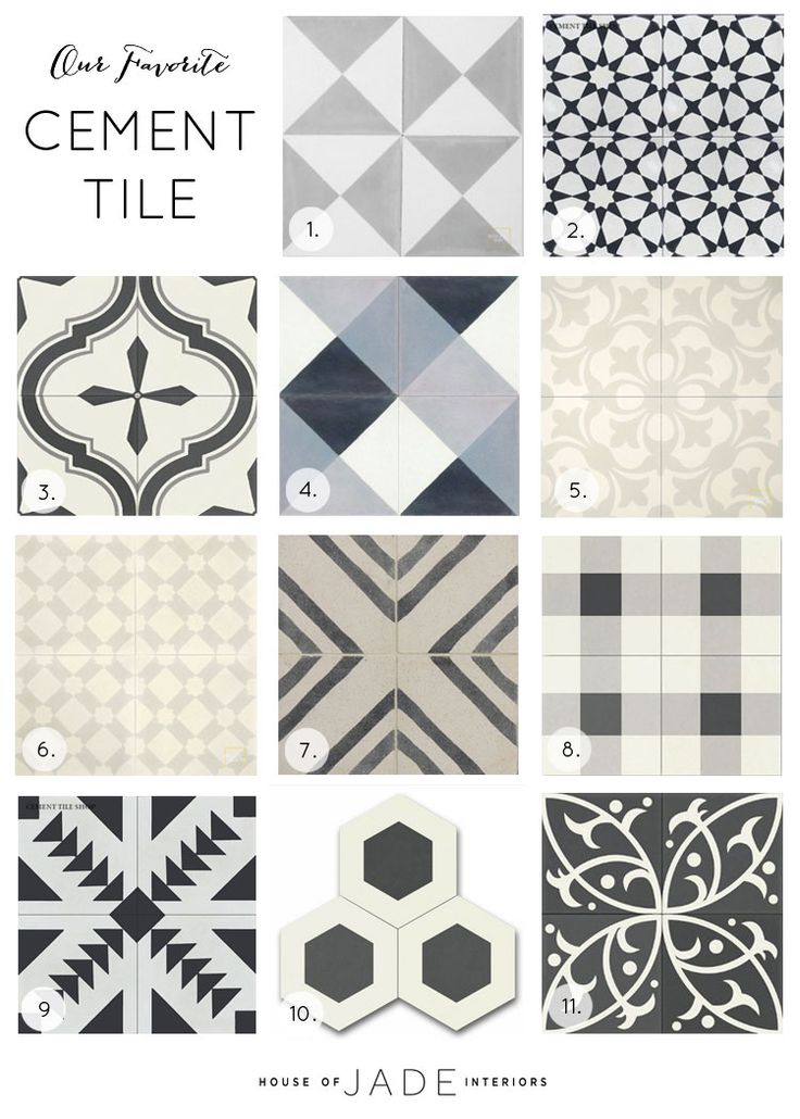 We are seeing cement tile popping up everywhere and, I don't know about you, but we cannot get enough. We love the bold patterns they boast, allowing each space to make a statement. Since cement tiles (also referred to as encaustic tiles) are such a statement piece we totally get that it may be scary …