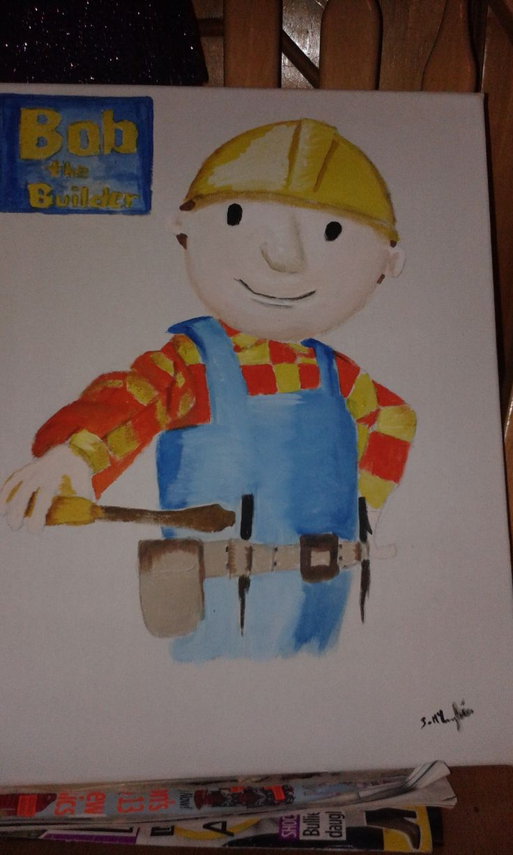 bob the builder painting