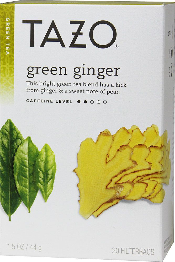 Tazo Green Tea Ginger