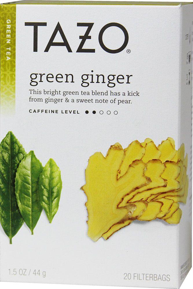 Tazo Green Tea Ginger