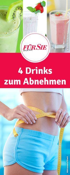 Rezepte für Fatburner Drinks: 4 Drinks zum Abnehmen