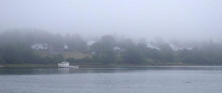 Foggy Morning in Sandy Cove Nova Scotia