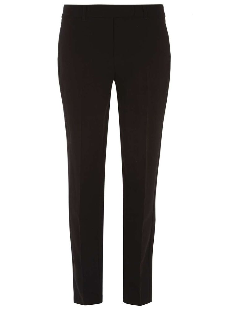 Dorothy Perkins Womens ** Tall Black Ankle Grazer Trousers- Tall black round tab ankle grazer trousers. 78.5cm in length. 76% Polyester, 19% Viscose, 5% Elastane. Machine washable. http://www.MightGet.com/january-2017-13/dorothy-perkins-womens-tall-black-ankle-grazer-trousers-.asp