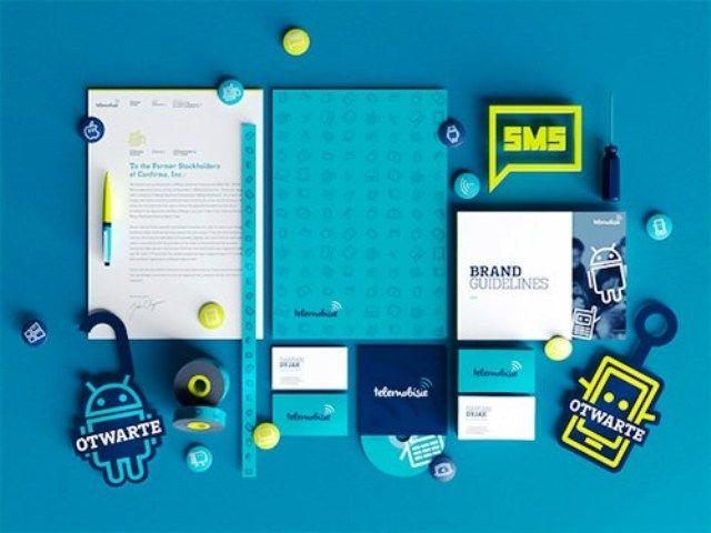 Telemobisie - Contoh Corporate Identity untuk Branding Bisnis