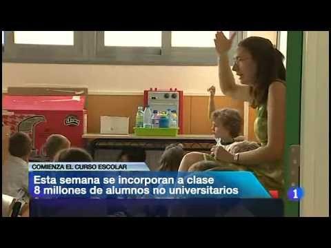 Zambombazo, Noticigrama Vuelta al cole en España