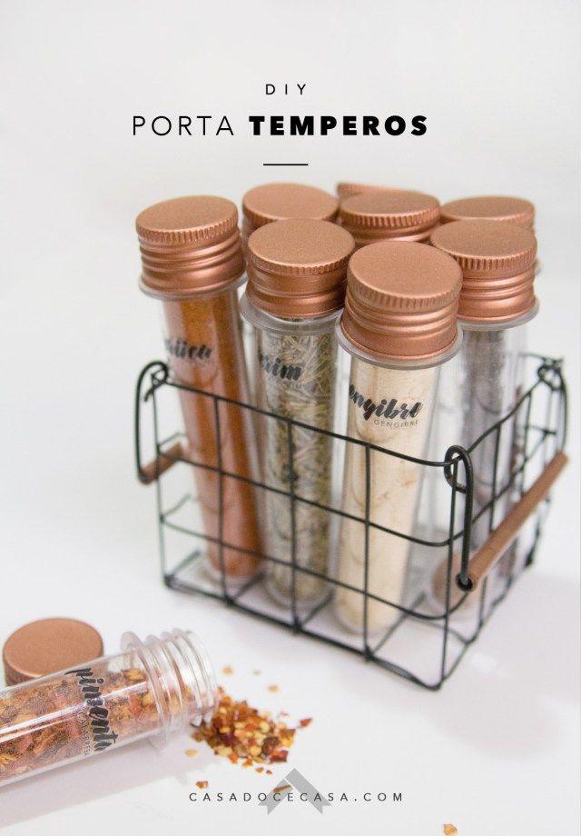 DIY: porta temperos cestinha com tubos de ensaio – annima.cc