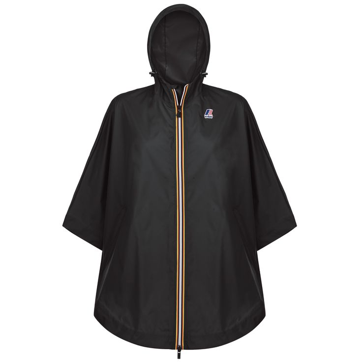 Cape femme K-way en nylon imperméable