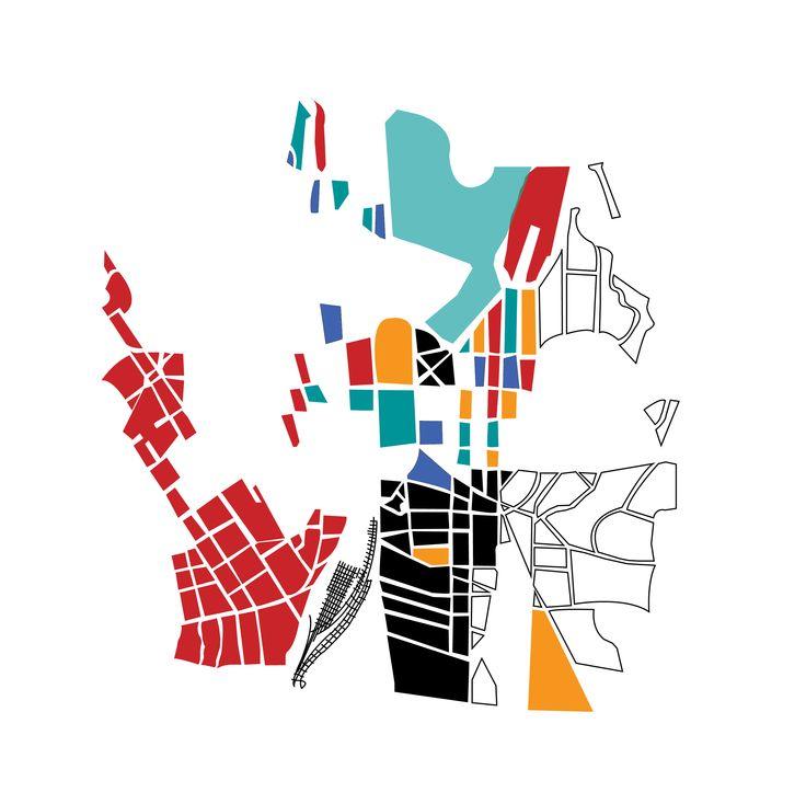 Italo Calvino - Invisible cities book | map