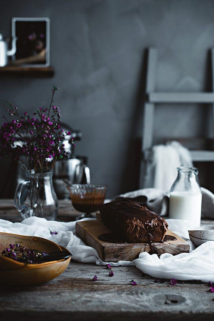 Bizcocho sin harina de chocolate