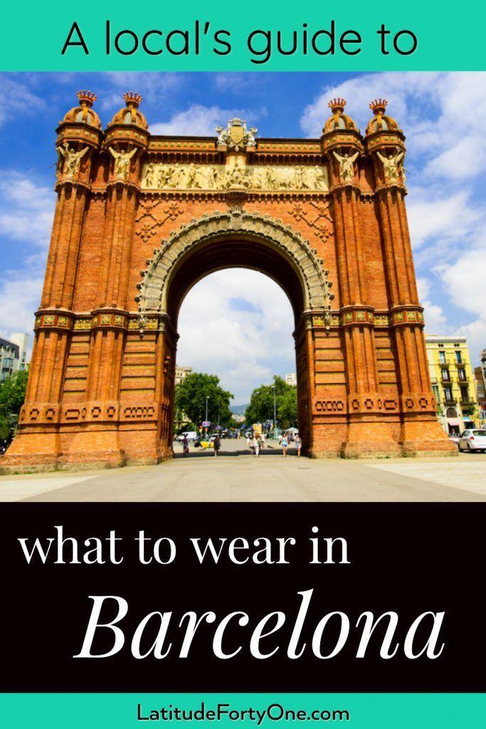 786e2ba54854b How to Dress in Barcelona According to Season | Tailwind Tribe Pins ...
