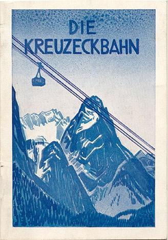 """""""Die Kreuzeckbahn,"""" 1926 German"""