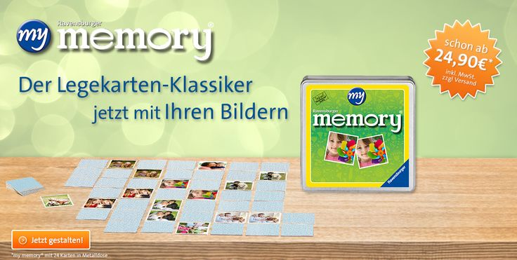 to make a family memory game for the lil' ones, so they get to know all the family and friends :-)  Ravensburger | Puzzle | Malen nach Zahlen | Baby Spielzeug | Brettspiele | Kinderbuch | myravensburger.com