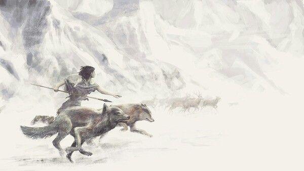 Wolf pack. Rikki Velez