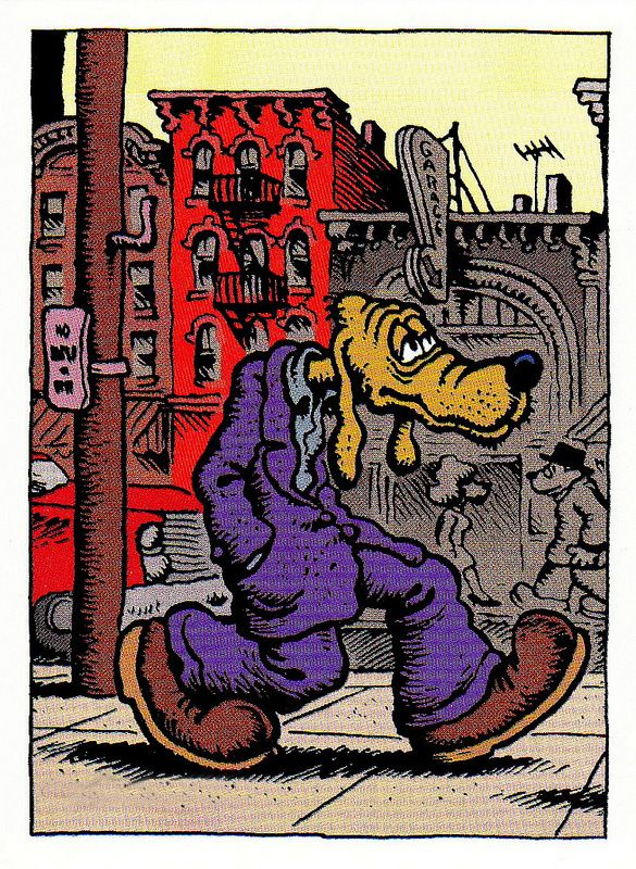 Dirty Dog by Robert Crumb (underground comics)