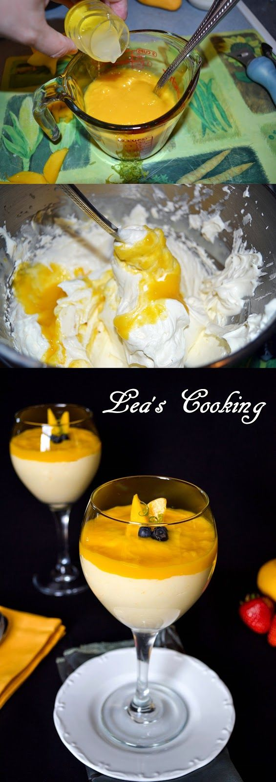 Lea's Cooking: Mango Mousse Recipe