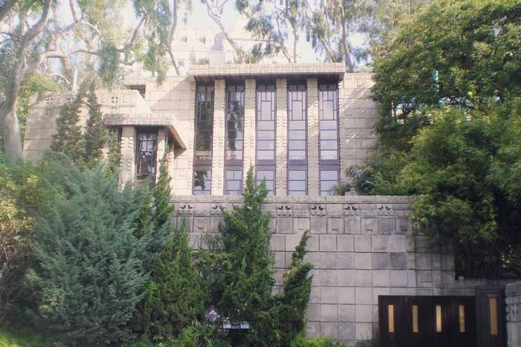 70 best images about flw storer house on pinterest los for Frank lloyd wright california