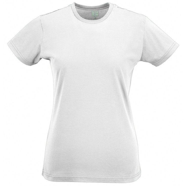 Amazon.co.jp: Russellファッション半袖スリムフィットTシャツトップス女性用レディース: 服&ファッション小物