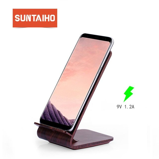 Suntaiho Qi Wireless Charger For iPhone 8X 10W Charging