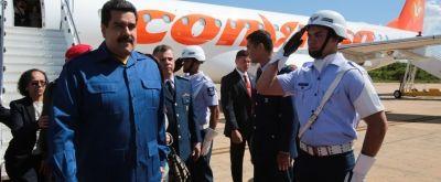 En fotos: Así llegó el presidente Maduro a Brasil para la toma de posesión de Dilma Rousseff