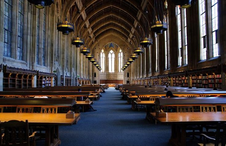 Suzzalo Library at the University of Washington – Seattle, Washington