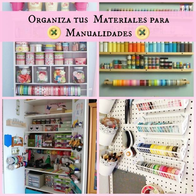 16 best images about organizadores diy on pinterest cable decoupage and origami - Muebles para manualidades ...