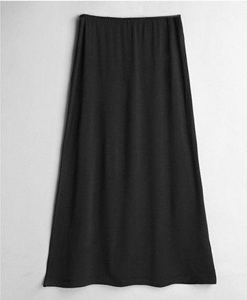 女性モーダル固体マキシハーフスリッププラスサイズロングセクシーなドレスパジャマレディーアンスコパジャマ白黒