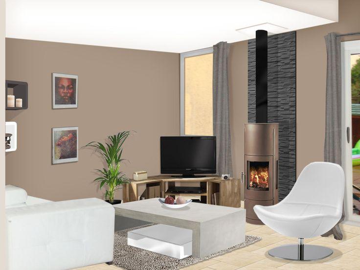les 13 meilleures images du tableau biblioth que salon sur pinterest biblioth que salon. Black Bedroom Furniture Sets. Home Design Ideas