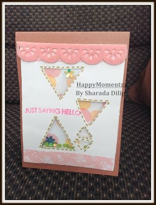 HappyMomentzz crafting by Sharada Dilip: Cards on the Roll !!