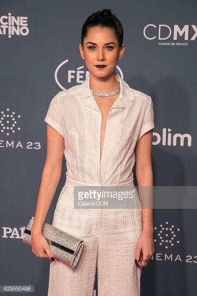 MEXICO CITY, MEXICO - DECEMBER 07: Ximena Romo poses for... #romokirkeby: MEXICO CITY, MEXICO - DECEMBER 07: Ximena Romo… #romokirkeby