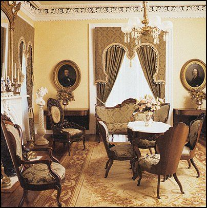 1660 best french and victorian decorating for Old fashioned living room designs