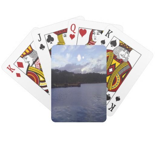 nature and sea two sun card deck