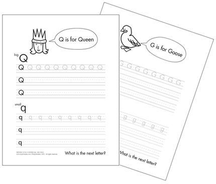 Printable Alphabet Tracing Worksheet | Mr Printables
