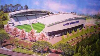 """Estadio Jorge """"Calero"""" Suarez (Metapan, El Salvador)"""