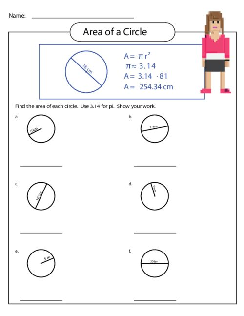 math worksheets circles area grade 6 geometry worksheets free printable k5 learninggeometry. Black Bedroom Furniture Sets. Home Design Ideas