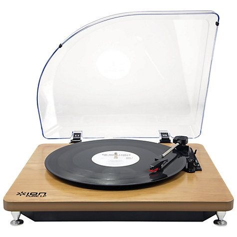 Buy ION Pure LP Conversion Turntable Online  Also Best Place to buy Vinyl Records Online : http://records-plus.com