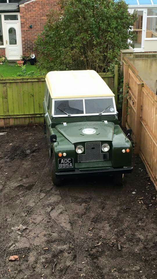 Land Rover Series II Sw