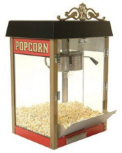 HTD Canada 8 oz Street Vendor Commercial Popcorn Machine